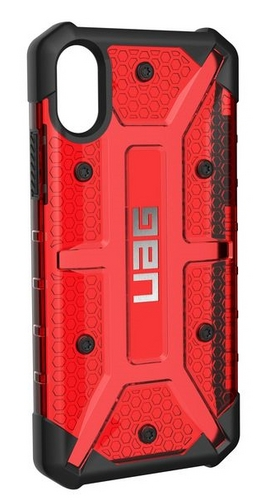 UAG Plasma Case - iPhone X/XS - magma (transparent)