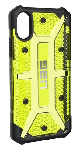 UAG Plasma Case - iPhone X/XS (5.8 Screen) - citron (transparent)