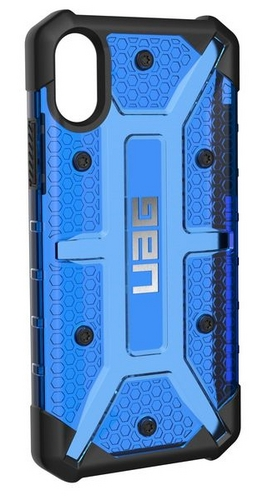 UAG Plasma Case - iPhone X (5.8 Screen) - cobalt (blue transparent)