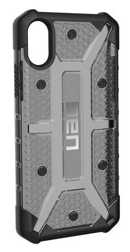 UAG Plasma Case - iPhone X (5.8 Screen) - ash (grey transparent)