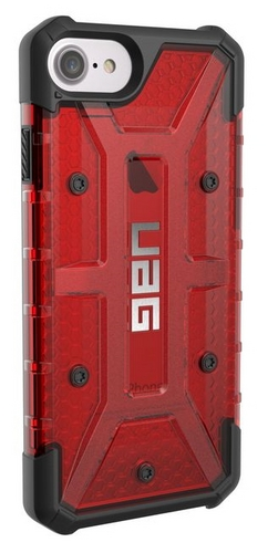 UAG Plasma Case - iPhone 8/7/6S (4.7 Screen) - magma  (red transparent)