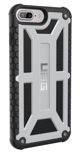 UAG Monarch Case - iPhone 8/7/6S Plus (5.5 Screen) - platinum