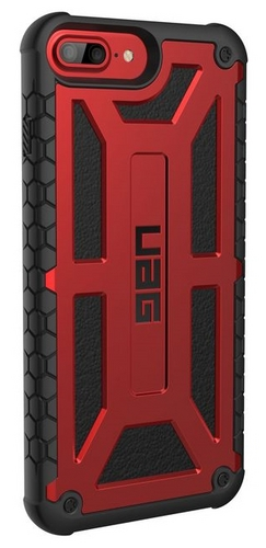 UAG Monarch Case - iPhone 8 Plus / 7 Plus / 6s Plus - crimson