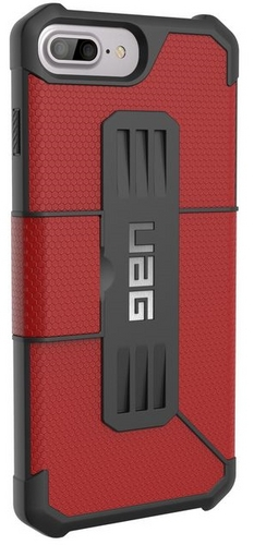 UAG Metropolis Case - iPhone 8/7/6S Plus (5.5 Screen) - magma