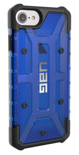UAG Plasma Case - iPhone 8/7/6S (4.7 Screen) - cobalt (blue transparent)