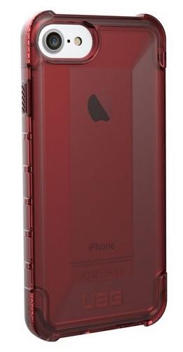 UAG Plyo Case - iPhone 8/7/6s - crimson (transparent)