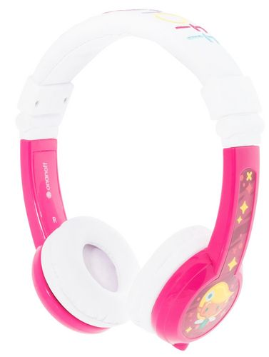 BuddyPhones + micro Explore foldable - pink
