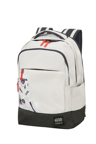 American Tourister Star Wars Laptop Backpack - Stormtrooper Geometric