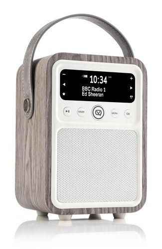 VQ Monty DAB+/ BT Radio - limed oak
