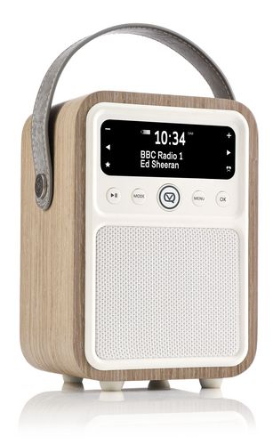 VQ Monty DAB+/ BT Radio - green grass oak