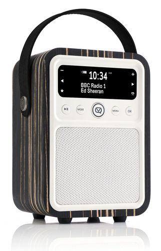 VQ Monty DAB+/ BT Radio - black zebra