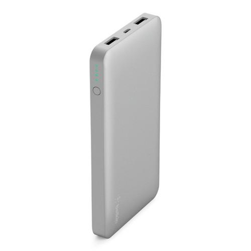 Belkin Pocket Power 10K Power Bank [10000mAh/12W/2.4A] - silver