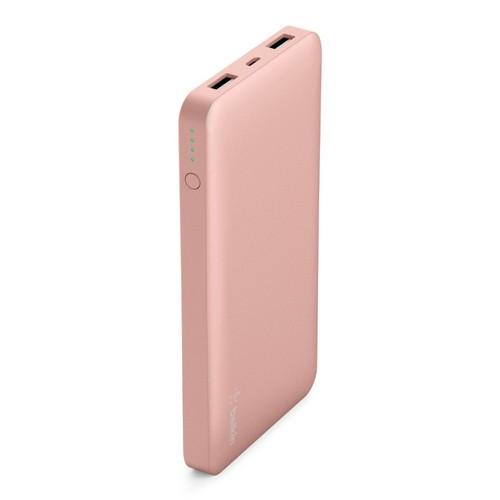 Belkin Pocket Power 10K Power Bank [10000mAh/12W/2.4A] - rose gold