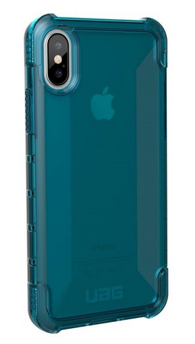 UAG Plyo Case - iPhone X (5.8 Screen) - glacier (blue transparent)