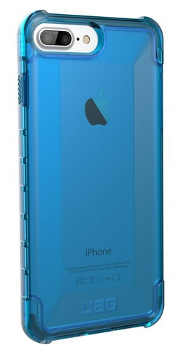UAG Plyo Case - iPhone 8/7/6S Plus (5.5 Screen) - galcier (blue transparent)