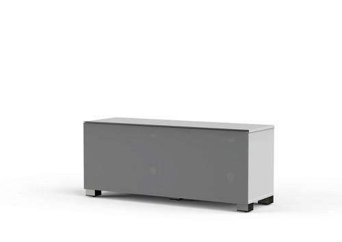 MyTv Stand 12040F - Meuble TV - Textile White