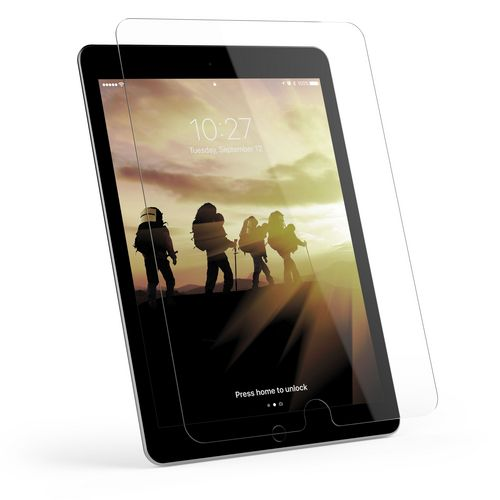 UAG Glass Screen Protector - iPad (2017 9.7 screen) - clear