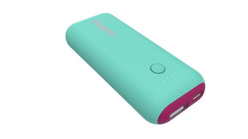Energizer MAX 5'000mAh Power Bank - mint/magenta