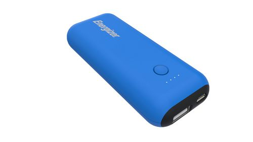 Energizer MAX 5'000mAh Power Bank - light blue/black