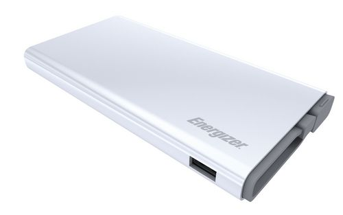 Energizer Ultimate 10'000mAh Power Bank Premium Edition Micro USB Cable - white