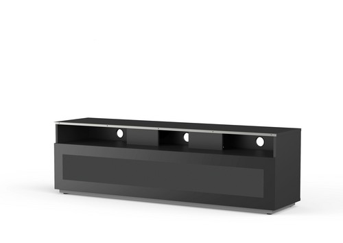 MyTv Stand 16040H - TV-Möbel - Glass Black