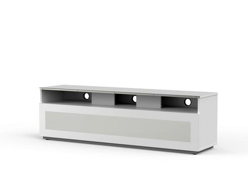 MyTv Stand 16040H - TV-Möbel - Glass White