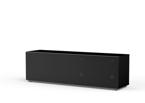 MyTv Stand 16040F - Mobile TV - Textile Black