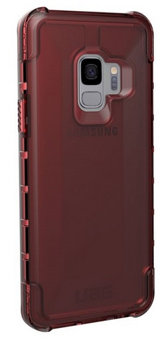 UAG Plyo Case - Samsung Galaxy S9 - crimson (transparent)