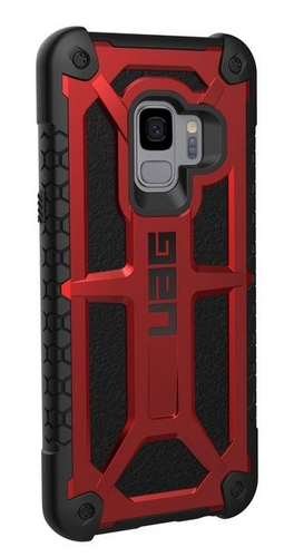 UAG Monarch Case - Samsung Galaxy S9 - crimson