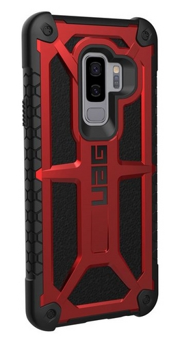 UAG Monarch Case - Samsung Galaxy S9+ - crimson
