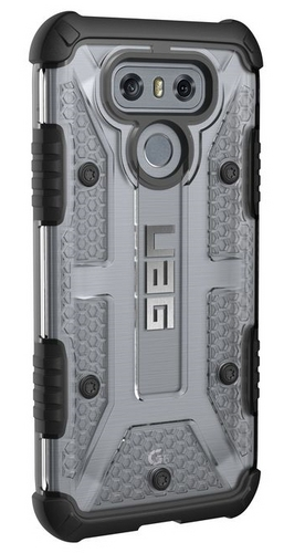 UAG Plasma Case - LG G6 - ice (transparent)