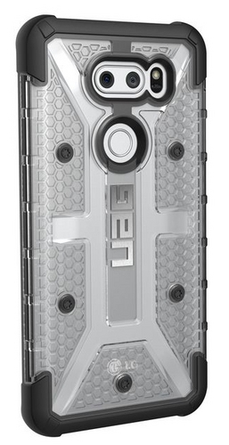 UAG Plasma Case - LG V30 - ice (transparent)