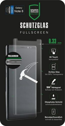 Scutes 3D Glass Screen Protector - Samsung Galaxy Note 8