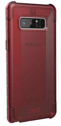 UAG Plyo Case - Samsung Galaxy Note 8 - crimson (transparent)