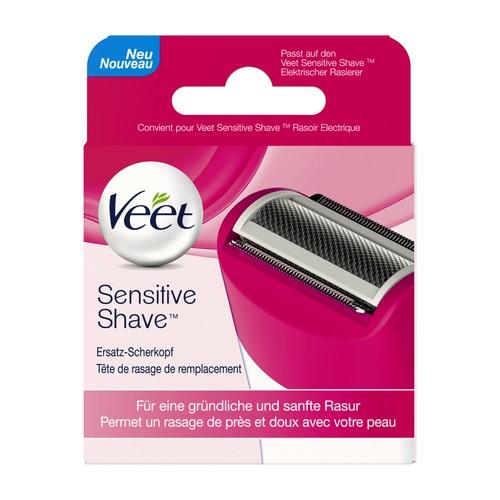 Veet Sensitive Shave elektrische Rasierklinge [1 Ersatz Scherkopf]