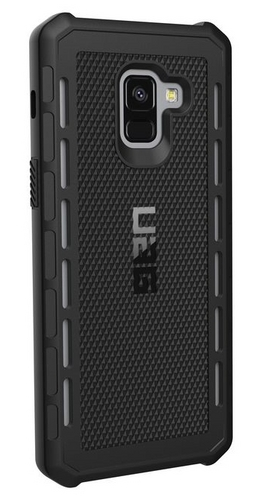 UAG Outback Case - Samsung Galaxy A8+ - black