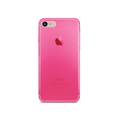 Puro 0.3 Nude Cover - iPhone 7/8 (4.7 Screen) - fluo pink