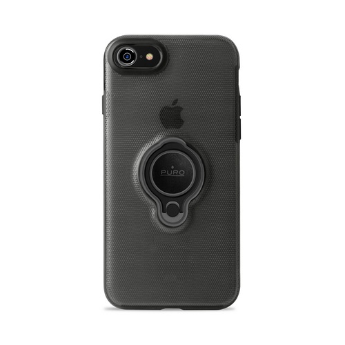 Puro Magnet Ring Cover - iPhone 7/8 - black