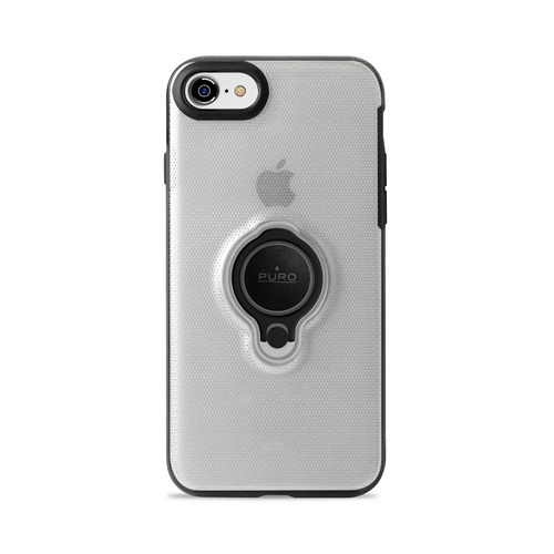 Puro Magnet Ring Cover - iPhone 7/8 - transparent