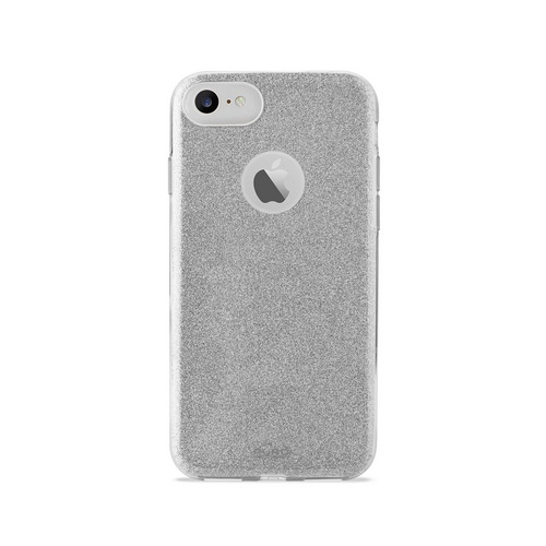 Puro Shine Cover - iPhone 7/8 - silver