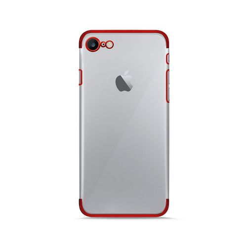 Puro Verge Crystal Cover - iPhone 7/8 - red