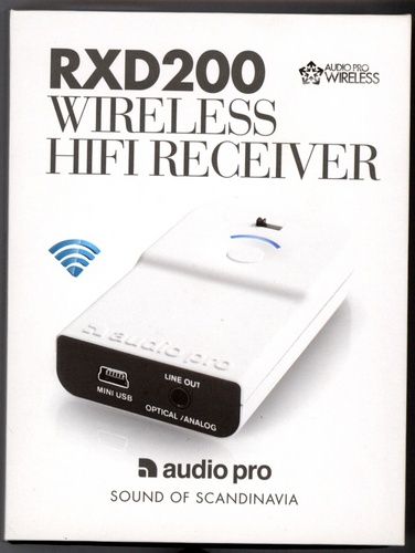 Audio Pro Wireless Receiver - black