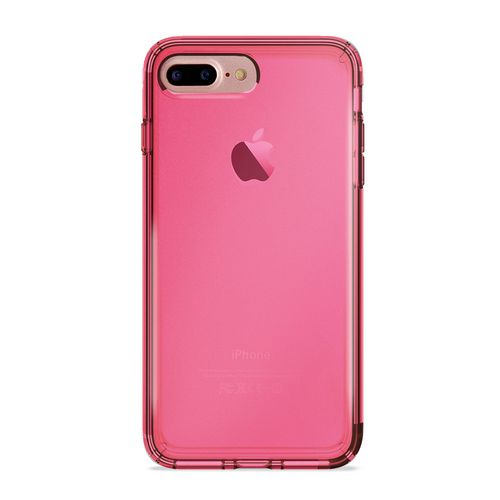 Puro 0.3 Nude Cover - iPhone 7 Plus /8 Plus (5.5 Screen) - fluo pink