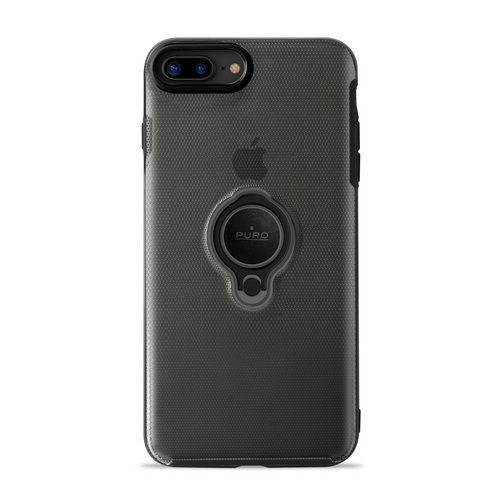 Puro Magnet Ring Cover - iPhone 7 Plus /8 Plus - black