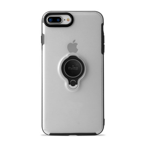 Puro Magnet Ring Cover - iPhone 7 Plus / 8 Plus - transparent