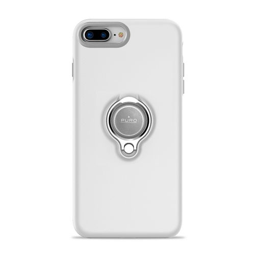 Puro Magnet Ring Cover - iPhone 7 Plus / 8 Plus - white