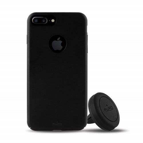 Puro Car Magnetic Kit - iPhone 7 Plus /8 Plus - black