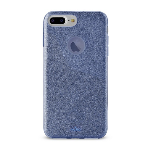 Puro Shine Cover - iPhone 6 Plus / 6s Plus / 7 Plus / 8 Plus - blue