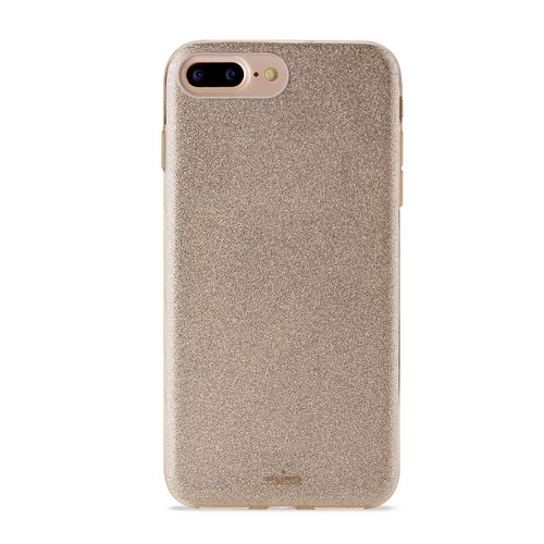Puro Shine Cover - iPhone 6 Plus / 6s Plus / 7 Plus / 8 Plus - gold