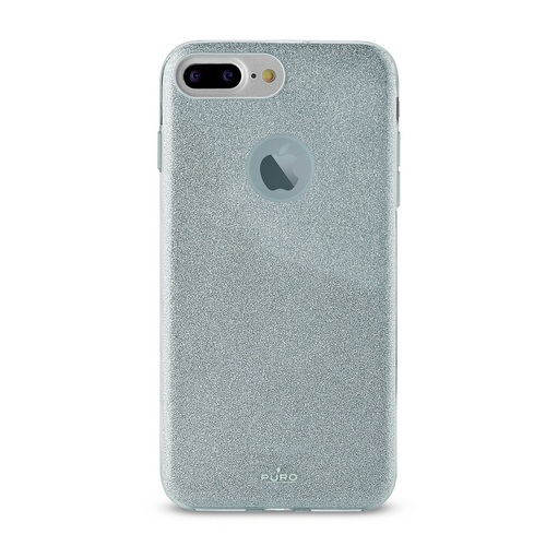 Puro Shine Cover - iPhone 6 Plus / 6s Plus / 7 Plus / 8 Plus - light blue